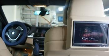 Bmw X6 E71 Orj. Dvd Media & ////ALPINE  Arka Eğlence Donanımı
